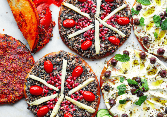 Give your pizza a Middle Eastern twist with this gluten-free recipe