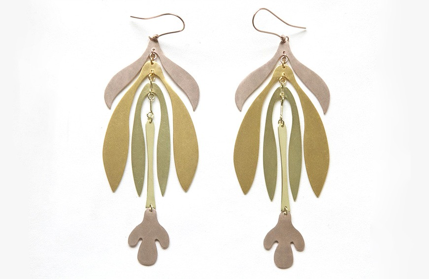 Sian Evans Inflorescence Mobile Earrings, $625 copy