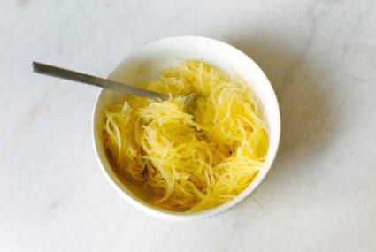 Costco's pre-prepped spaghetti squash makes dinner plans easy, affordable, and keto-friendly