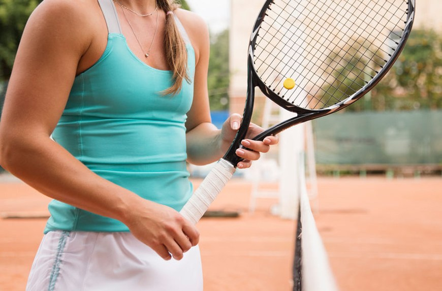 Thumbnail for 6 monochromatic activewear pieces in the It-color of the French Open