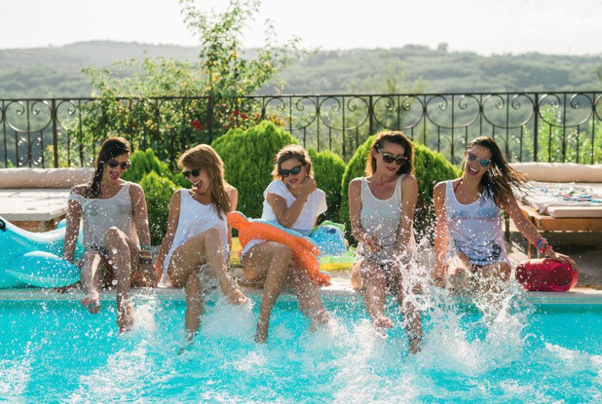 Everything you need to throw a next-level summer pool party