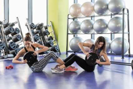Weight lifting may reduce depression, study says