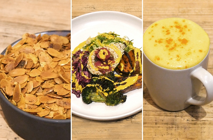 Thumbnail for 3 vegan recipes starring turmeric you can make in 15 minutes or less