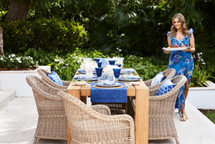 Aerin Lauder has the *best* tips for how to throw a summer soirée