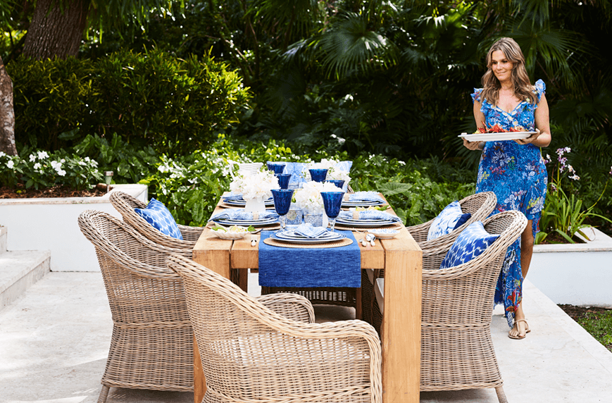 Thumbnail for Aerin Lauder has the *best* tips for how to throw a summer soirée
