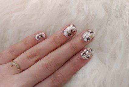at home nail art