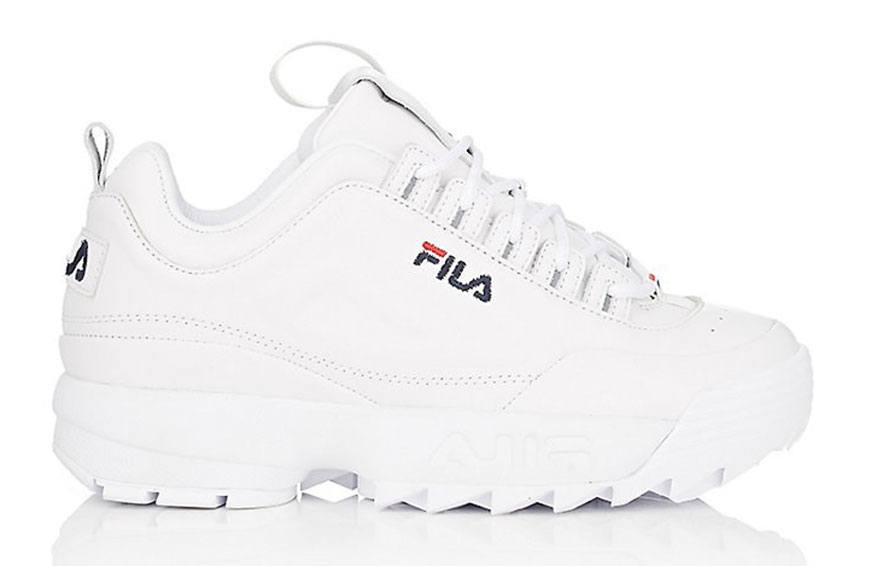 FILA Disruptor 2 Lux Leather Sneakers, $120