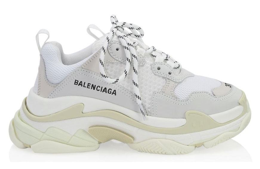 Balenciaga Triple Lace-Up Sneakers, $895