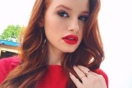 Steal this Madelaine Petsch makeup tip for lips