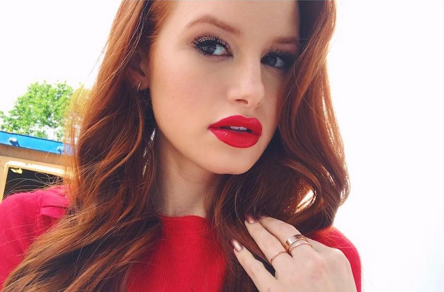 Thumbnail for Madelaine Petsch says this bold red (vegan!) lipstick helps her steal every 'Riverdale' scene