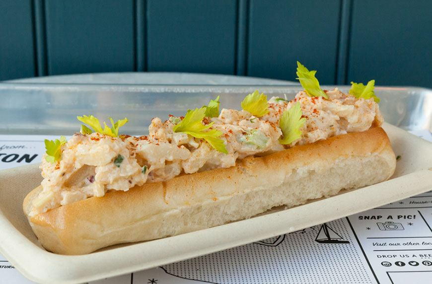 Craving a lobster roll? Make it the vegan way with this recipe from By CHLOE.'s executive chef