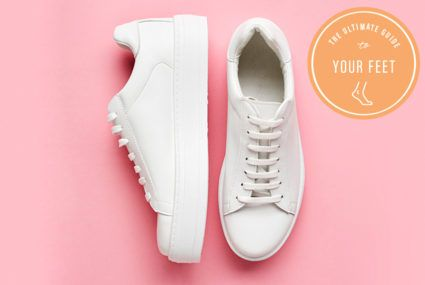 The easiest way to keep your sneakers from smelling