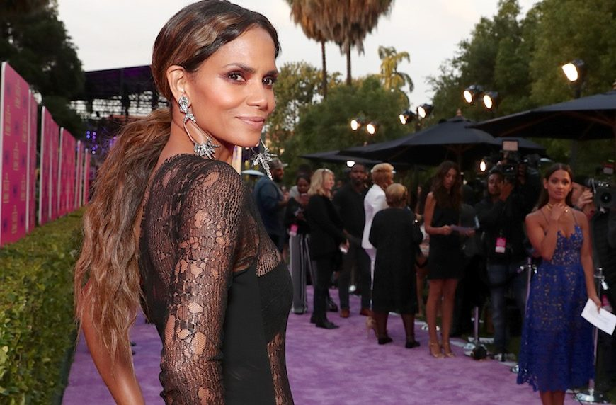 Thumbnail for 4 travel-friendly exercises Halle Berry does using nothing but a chair