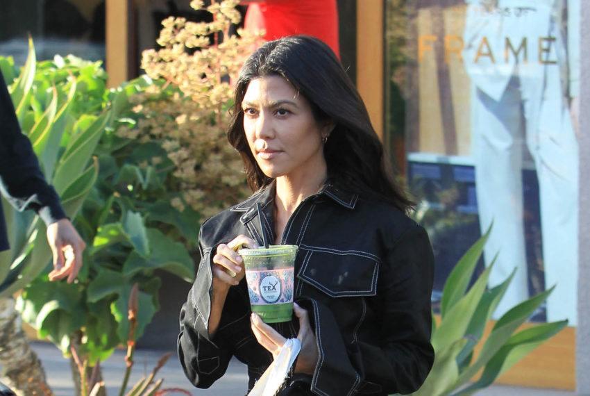What Kourtney Kardashian eats when she's on a detox