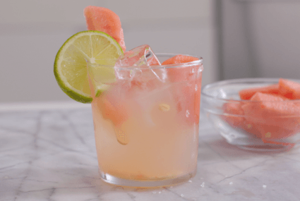 Try This Low-Sugar Watermelon Margarita For Major Vacay Vibes
