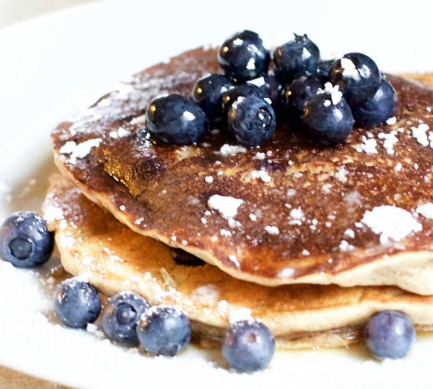 whole30 blueberry pancakes