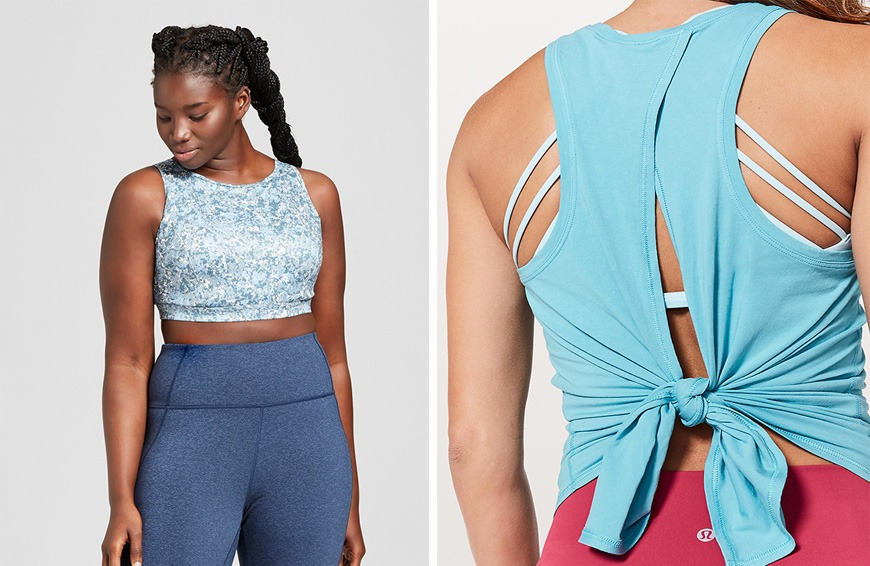 Backless shirts and statement sports bras: The style summer fling that looks to have staying power