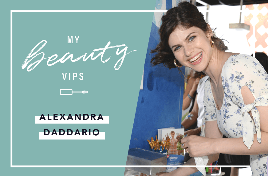 Thumbnail for Alexandra Daddario keeps coming back to *this* skin-care product