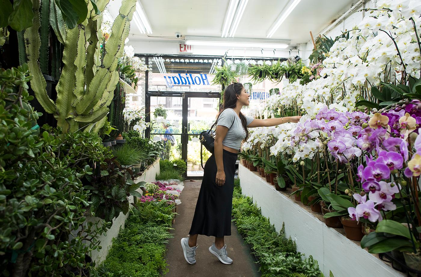 New Balance Celine Cortes Floral Shop
