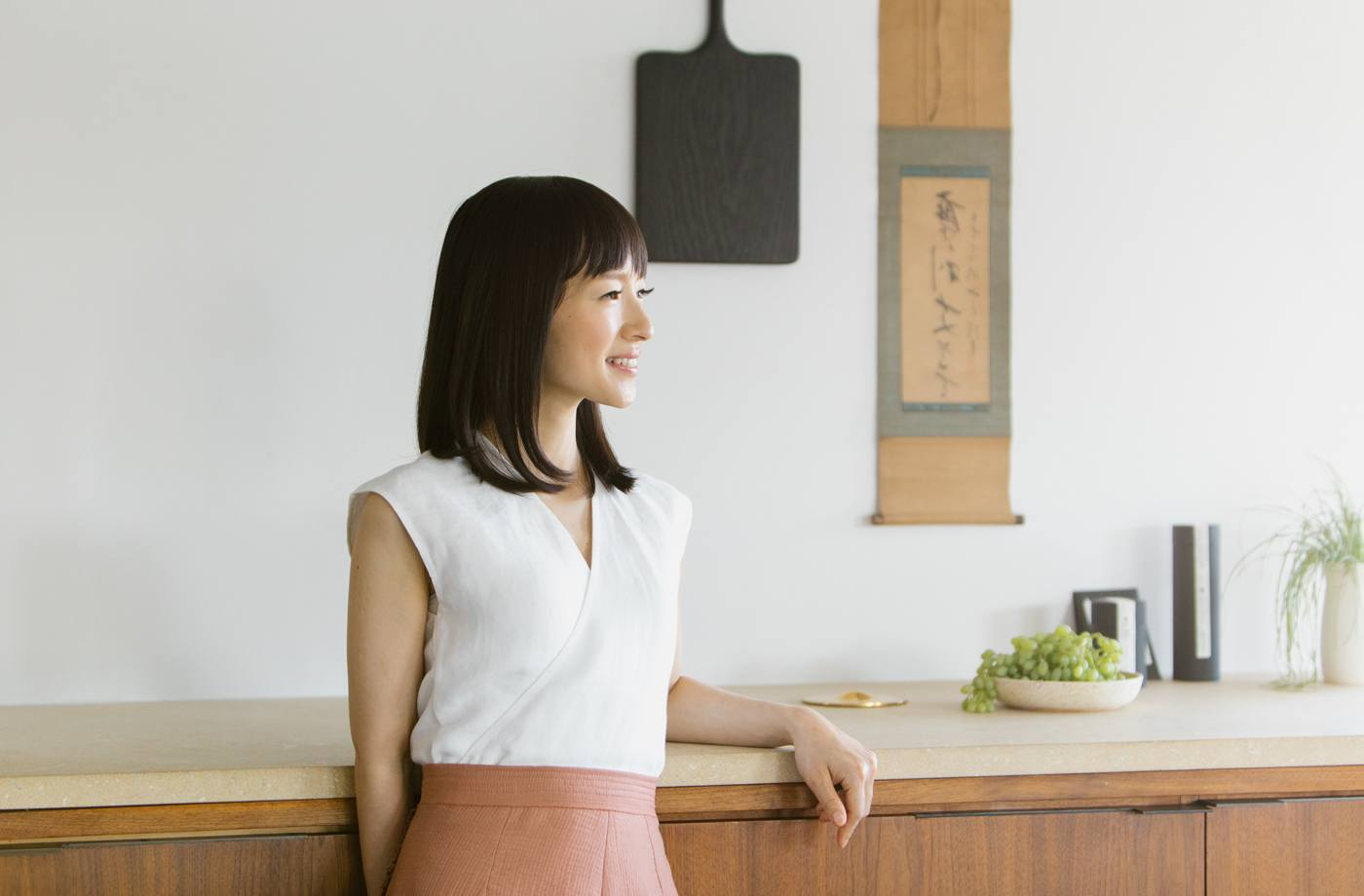 Thumbnail for Marie Kondo is moving in on Muji territory with her first joy-sparking product
