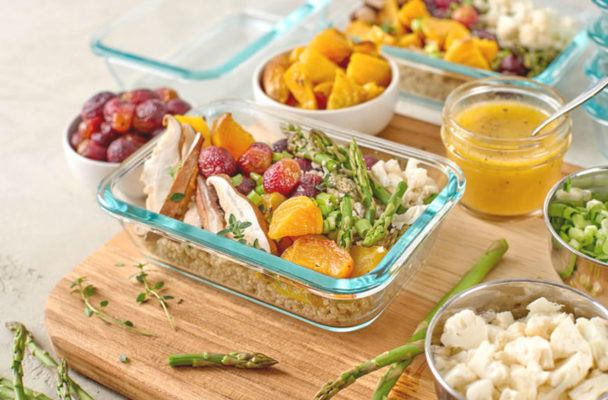 Make room in the fridge: You *need* to copy Emmy Rossum's Whole30 meal-prep game