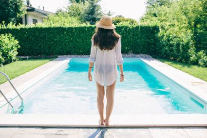 The healthy reasons to swim in a saltwater pool all summer long