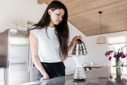 The effects of coffee can come from just smell