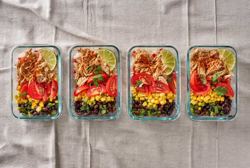 How to Meal Prep for the Week in Just 90 Minutes (Mic Drop)