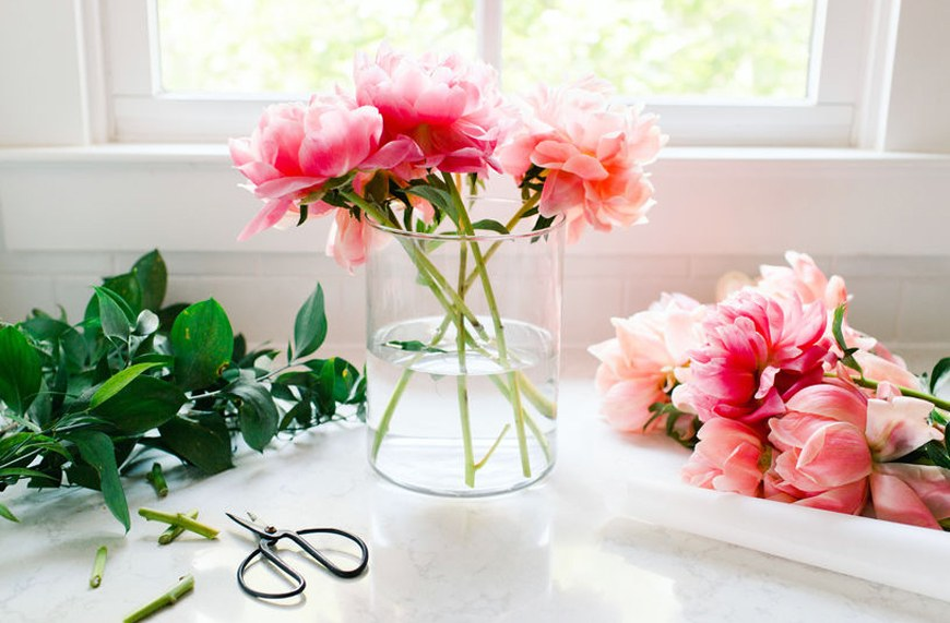 Thumbnail for The Key to Keeping Your Flowers Fresh Longer Will Literally Cost You 1 Cent