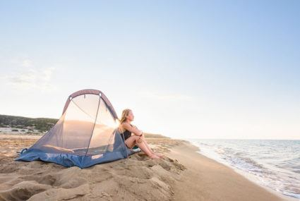Chic tents for camping