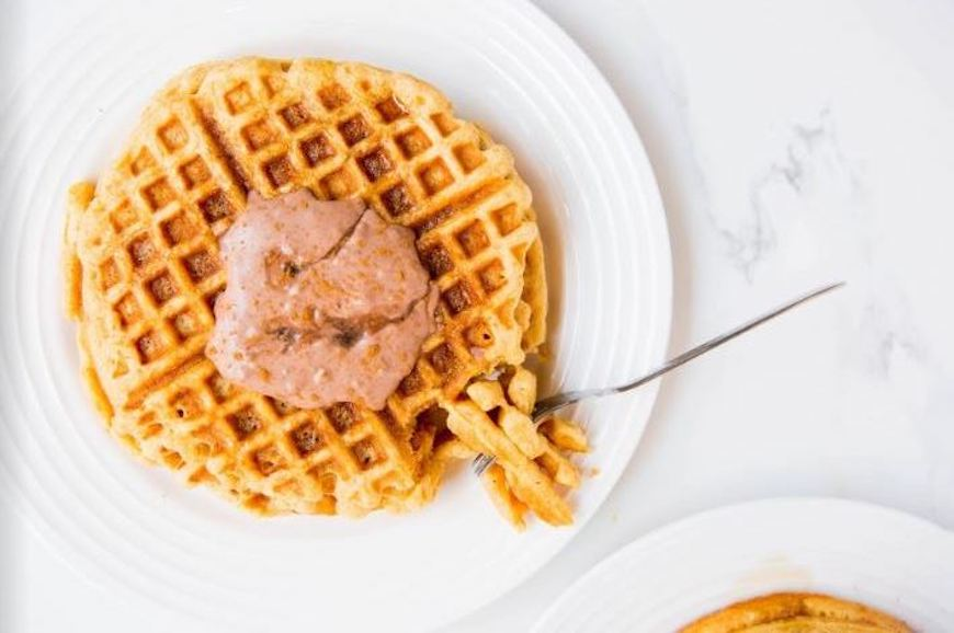 Simple Mills Sweet Potato Collage Waffle