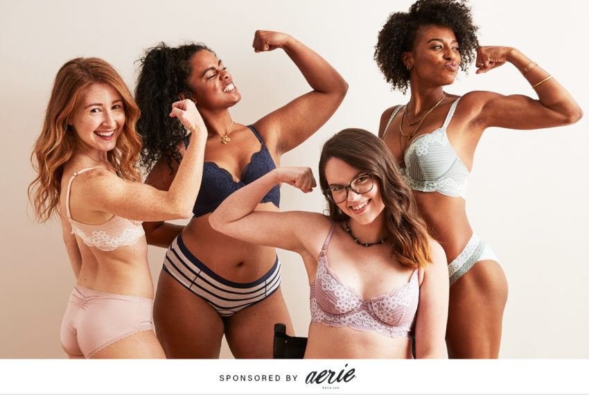 Aerie's new collection is serving up bras for everybody—and we're here for it