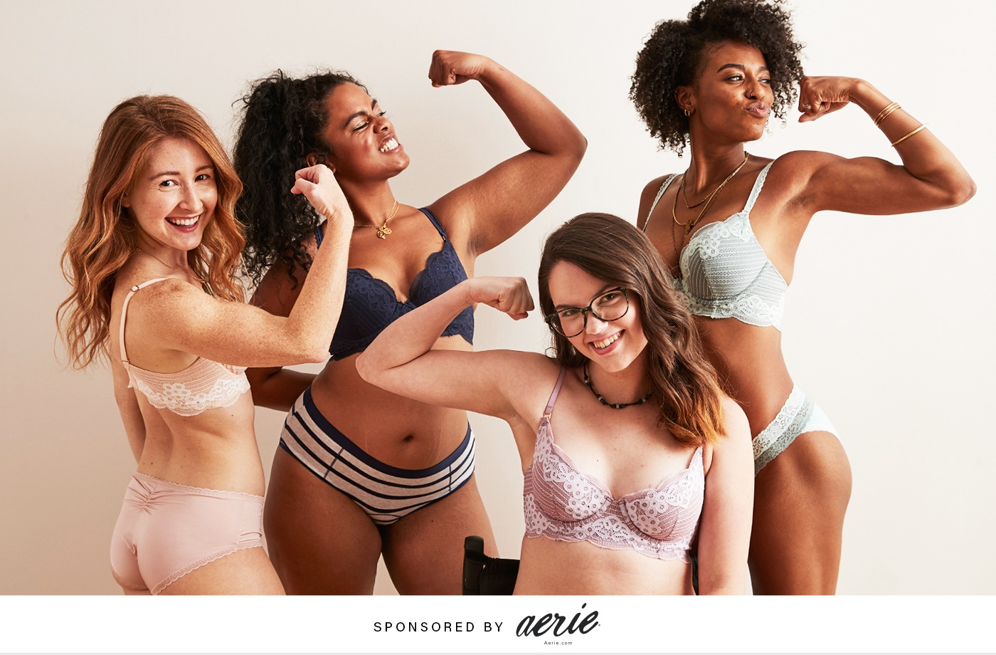 Thumbnail for Aerie's New Collection Is Serving up Bras for Everybody—and We're Here for It