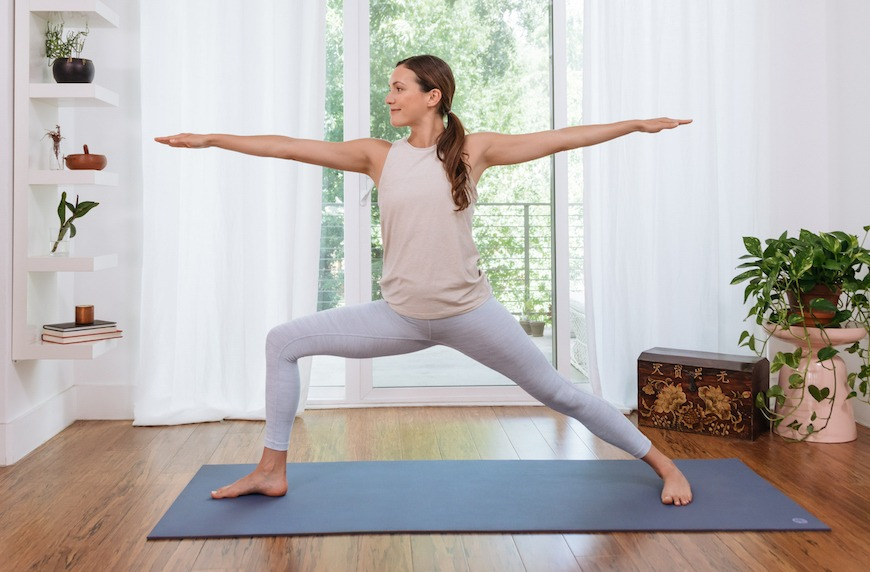 commune yoga challenge with adrienne