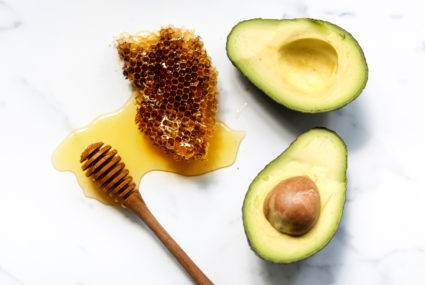 Your beloved avocado is just as potent in this 2-ingredient face mask as it is delish