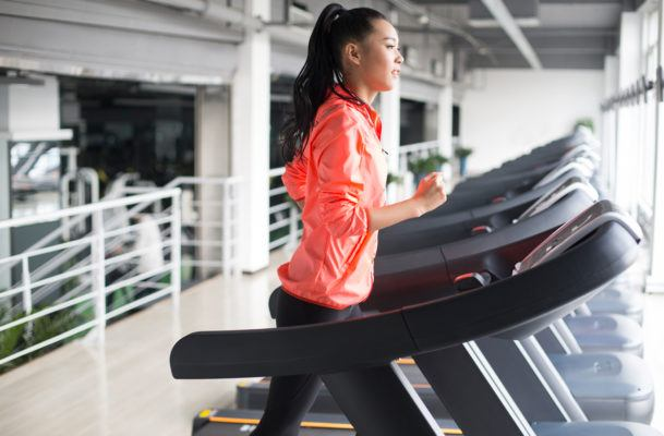 Basic no more: Treadmills are suddenly *cool*