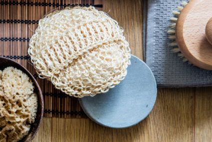 This is how often to replace loofah—hint: often