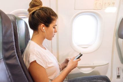 To stay healthy while traveling, keep your overhead fan turned *on*—here's why