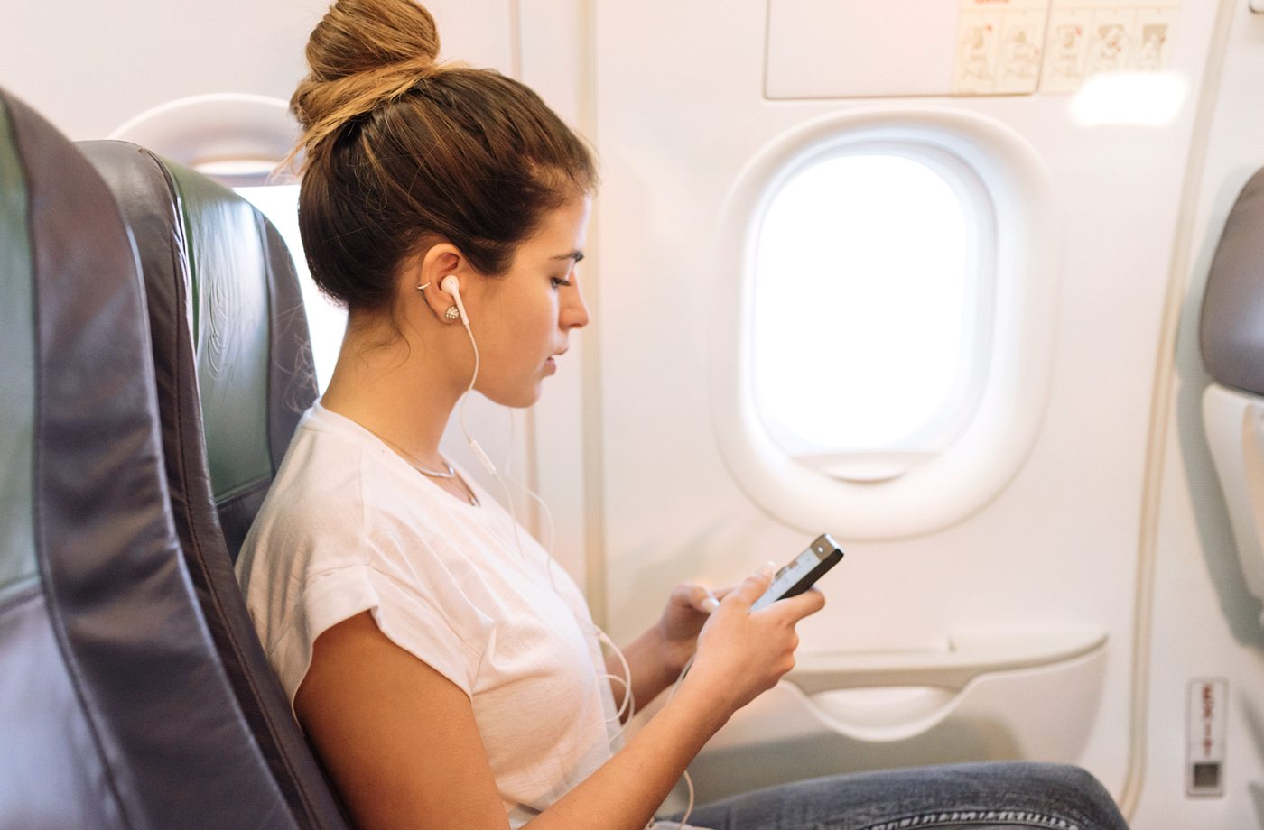 Thumbnail for To stay healthy while traveling, keep your overhead fan turned *on*—here's why