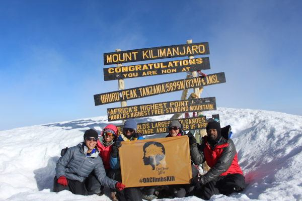 I was part of the first all-black group from the U.S. to climb Mount Kilimanjaro