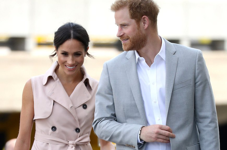 Thumbnail for Prince Harry and Meghan Markle just adopted a very good dog (for their health, of course)
