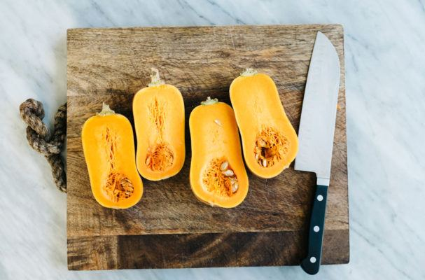 Squash Your Side-Dish-Prepping Woes With This One-Pan Butternut Creation