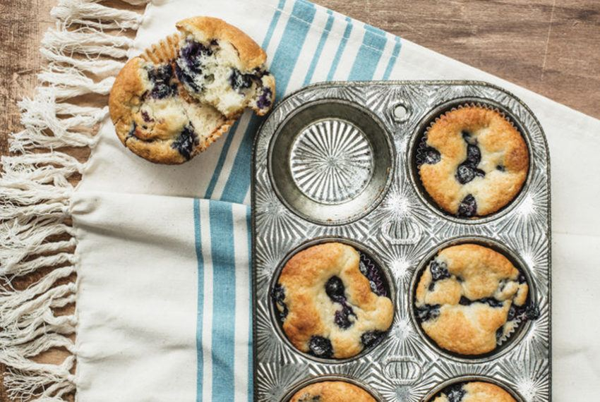 Emmy Rossum Sweetens Her Paleo-Friendly Muffins With 2 Extra-Healthy Secret Ingredients