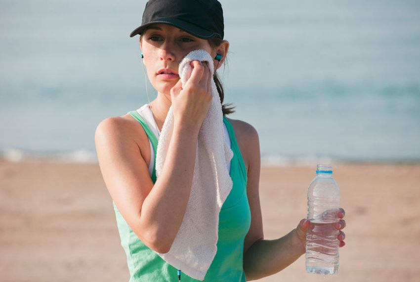 Here's why you get nosebleeds during summer runs (and how to deal mid-stride)