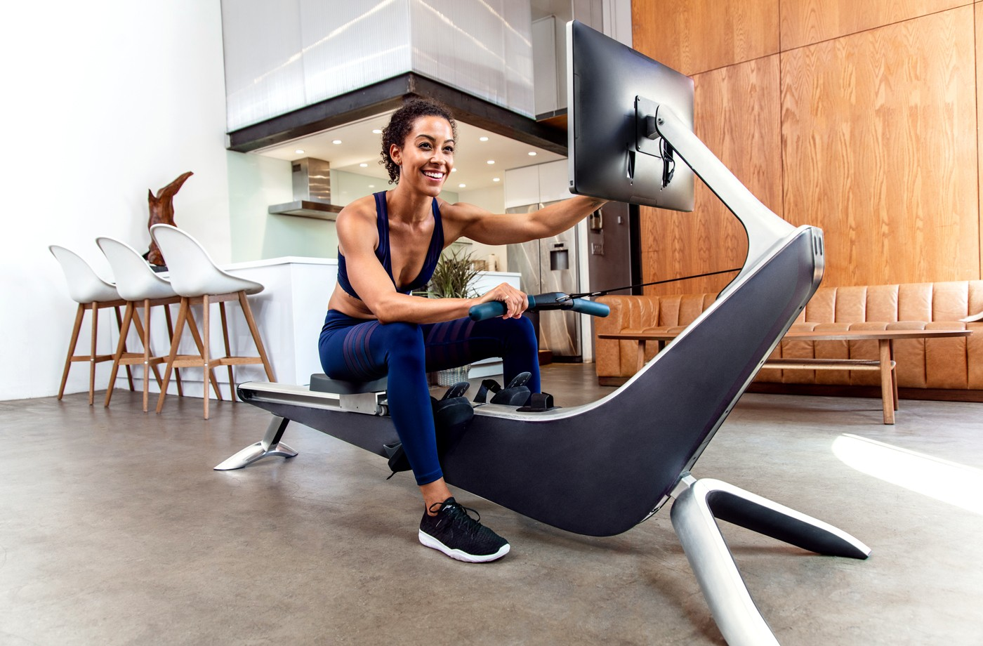Thumbnail for The rowing-machine version of Peloton wants you to feel like you're on an IRL river