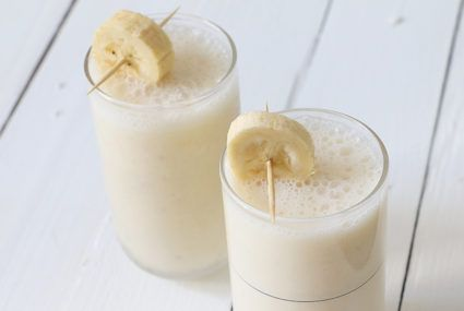 Get ready to go totally *bananas* for this vegan alt-milk option