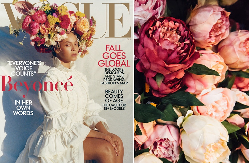 Thumbnail for How to re-create Beyoncé's epic flower crown as a fierce bouquet for your home