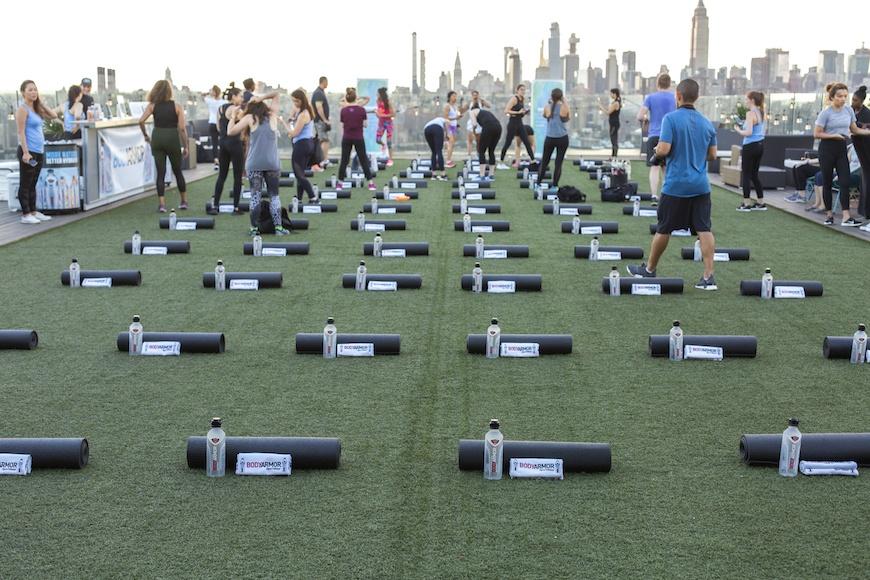 BODYARMOR workout