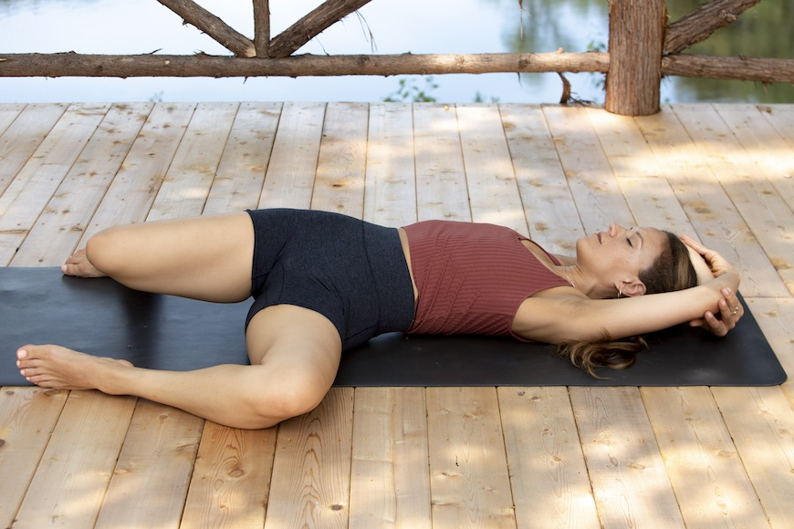 These yoga moves pretty much feel like a massage