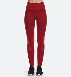 Thumbnail for If you only add one color to your activewear wardrobe this fall, make it cranberry